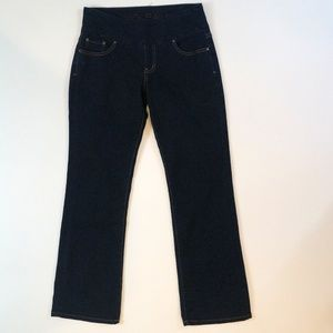 Jag Jeans Pull On High Rise Boot Leg Size 6 Petite